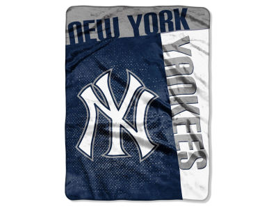 New York Yankees 60x80 Raschel Throw
