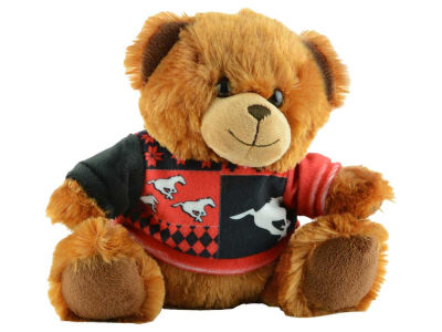 "Calgary Stampeders 7.5"" Ugly Sweater Bear"
