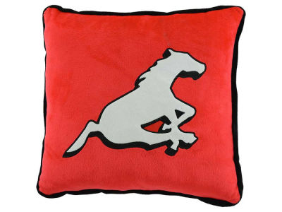 Calgary Stampeders Contrast Trim Pillow