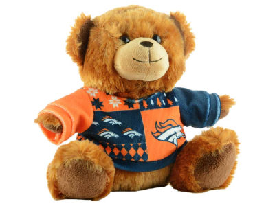 "Denver Broncos 7.5"" Ugly Sweater Bear"