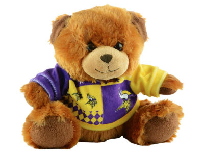 "Minnesota Vikings 7.5"" Ugly Sweater Bear"