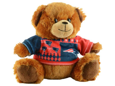 "New England Patriots 7.5"" Ugly Sweater Bear"