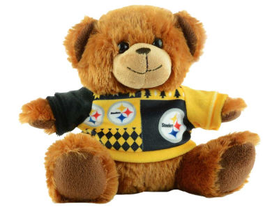 "Pittsburgh Steelers 7.5"" Ugly Sweater Bear"
