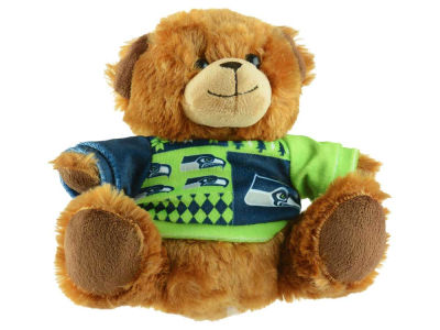 "Seattle Seahawks 7.5"" Ugly Sweater Bear"