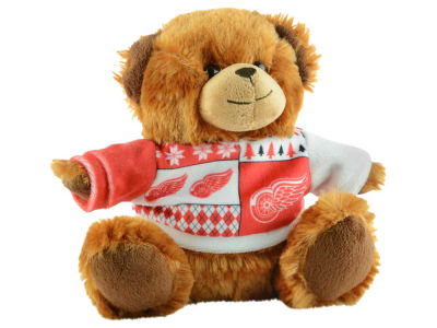 "Detroit Red Wings 7.5"" Ugly Sweater Bear"