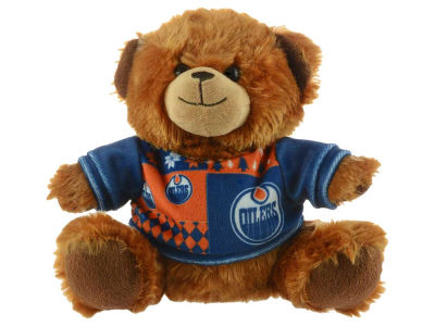 "Edmonton Oilers 7.5"" Ugly Sweater Bear"