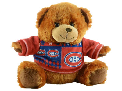 "Montreal Canadiens 7.5"" Ugly Sweater Bear"