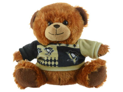 "Pittsburgh Penguins 7.5"" Ugly Sweater Bear"
