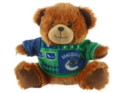 "Vancouver Canucks 7.5"" Ugly Sweater Bear"
