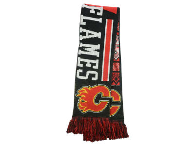 Calgary Flames Ugly Sweater Acrylic Reversible Scarf