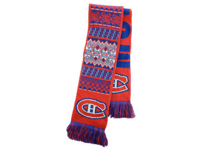 Montreal Canadiens Ugly Sweater Acrylic Reversible Scarf