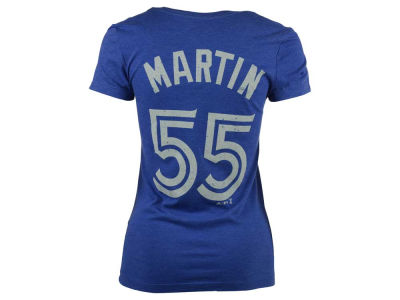 Toronto Blue Jays Russell Martin  MLB Women's On Field Victory Player T-Shirt