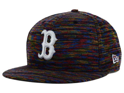 Boston Red Sox New Era MLB Color Knit 9FIFTY Snapback Cap
