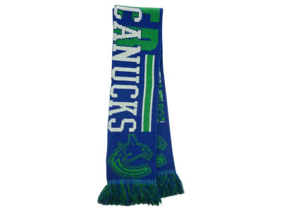 Vancouver Canucks Ugly Sweater Acrylic Reversible Scarf