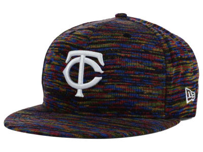 Minnesota Twins New Era MLB Color Knit 9FIFTY Snapback Cap