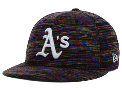 Oakland Athletics New Era MLB Color Knit 9FIFTY Snapback Cap