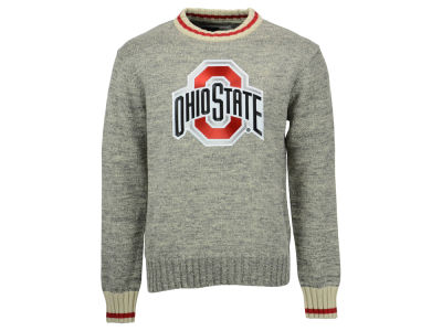 Ohio State Buckeyes NCAA Men's Work Sock Crew Sweater