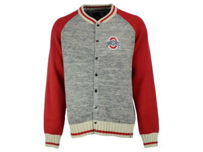 Ohio State Buckeyes NCAA Men's Work Sock 1/4 Zip Sweater