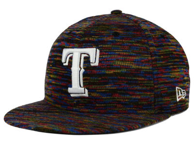 Texas Rangers New Era MLB Color Knit 9FIFTY Snapback Cap