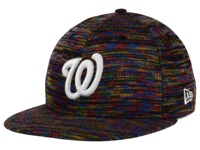 Washington Nationals New Era MLB Color Knit 9FIFTY Snapback Cap