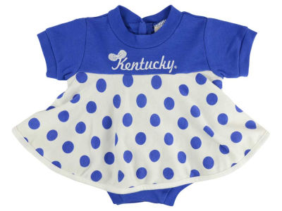 Kentucky Wildcats NCAA Infant Polka Dot Dress