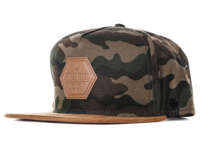 No Bad Ideas Elite Camo Snapback Hat
