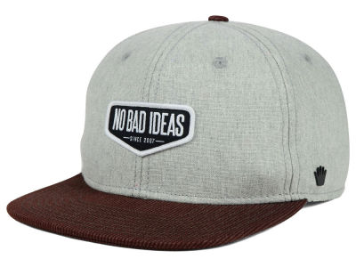 No Bad Ideas Braxton Snapback Hat