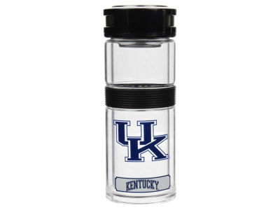 Kentucky Wildcats 14oz Glass Travel Thermos