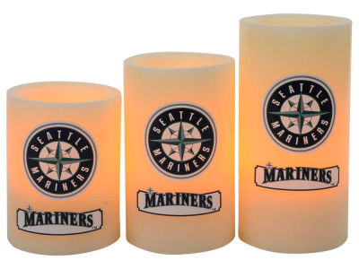 Seattle Mariners Flameless Wax Candles