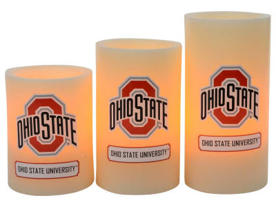 Ohio State Buckeyes Flameless Wax Candles