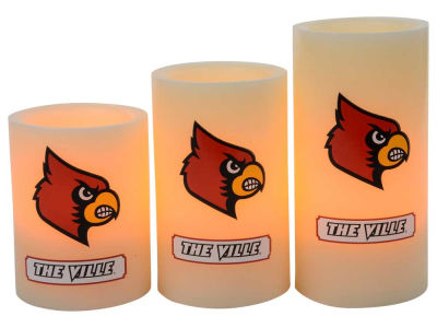 Louisville Cardinals Flameless Wax Candles