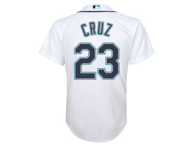Seattle Mariners Nelson Cruz MLB Youth Player Replica CB Jersey