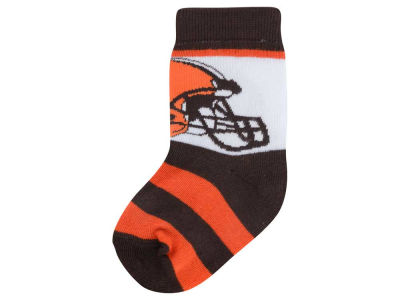 Cleveland Browns Infant Stripe Socks