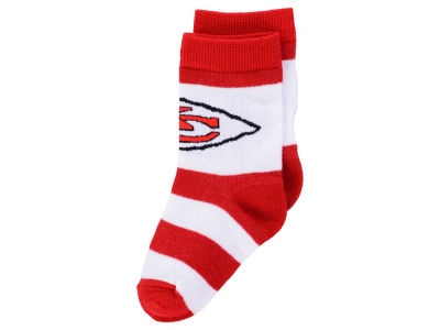 Kansas City Chiefs Toddler Stripe Sock