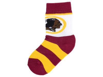 Washington Redskins Toddler Stripe Sock