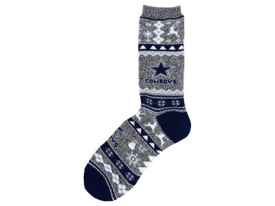 Dallas Cowboys Ugly Sweater Socks