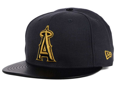 Los Angeles Angels New Era MLB L-Viz 9FIFTY Strapback Cap
