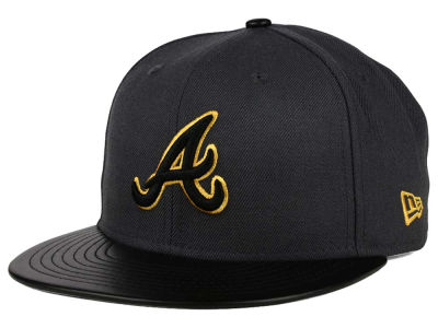 Atlanta Braves New Era MLB L-Viz 9FIFTY Strapback Cap