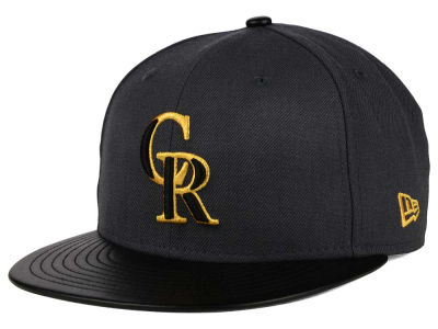 Colorado Rockies New Era MLB L-Viz 9FIFTY Strapback Cap
