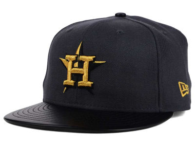 Houston Astros New Era MLB L-Viz 9FIFTY Strapback Cap