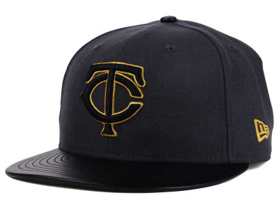 Minnesota Twins New Era MLB L-Viz 9FIFTY Strapback Cap