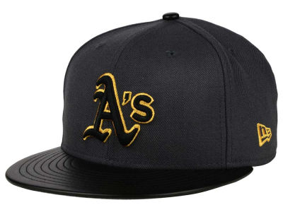 Oakland Athletics New Era MLB L-Viz 9FIFTY Strapback Cap