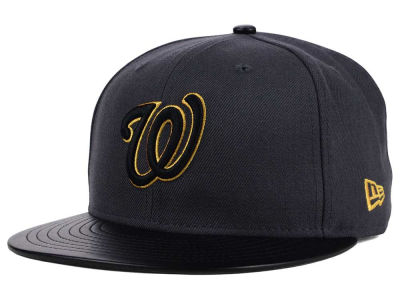 Washington Nationals New Era MLB L-Viz 9FIFTY Strapback Cap
