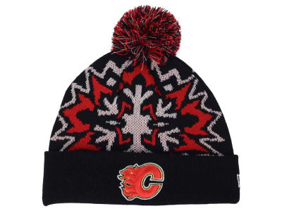Calgary Flames New Era NHL Glowflake 2.0 Knit