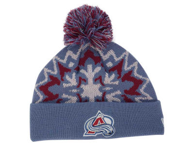 Colorado Avalanche New Era NHL Glowflake 2.0 Knit