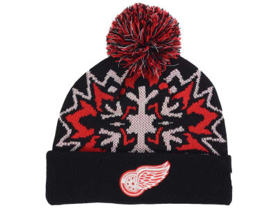 Detroit Red Wings New Era NHL Glowflake 2.0 Knit
