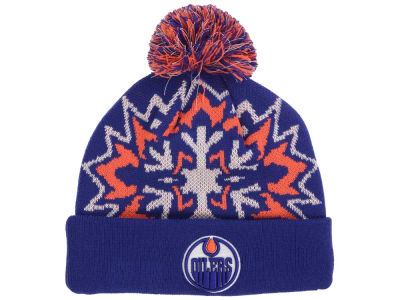 Edmonton Oilers New Era NHL Glowflake 2.0 Knit