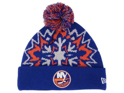 New York Islanders New Era NHL Glowflake 2.0 Knit