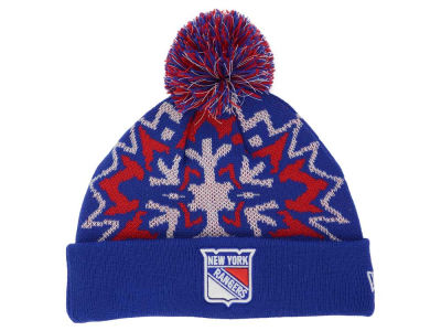 New York Rangers New Era NHL Glowflake 2.0 Knit