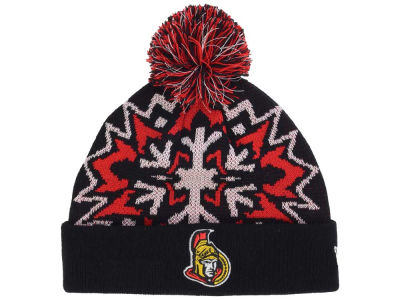 Ottawa Senators New Era NHL Glowflake 2.0 Knit